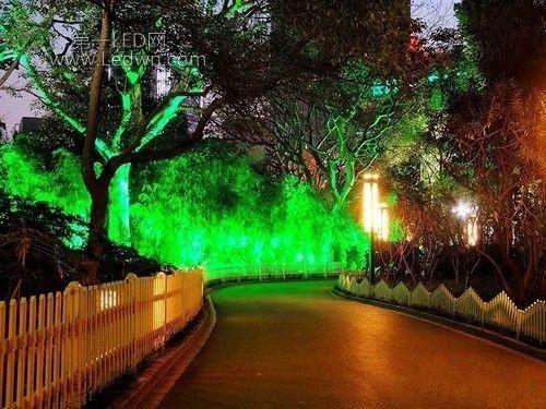 园林景观照明设计技巧图片