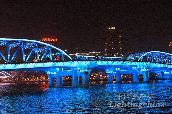 广州海珠桥夜景照明设计