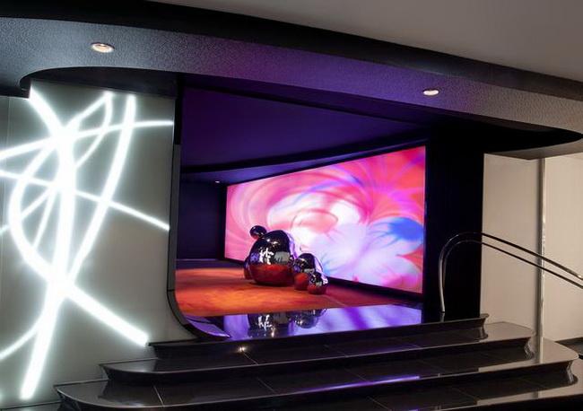 高端会所式私人影院灯光设计