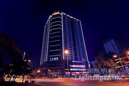 西安市南二环建筑照明设计