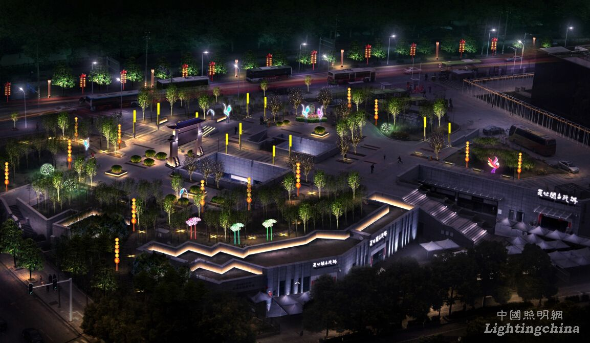 设计公司:深圳上筑艺术设计有限公司 照明设计效果演绎: ,景观灯具图片
