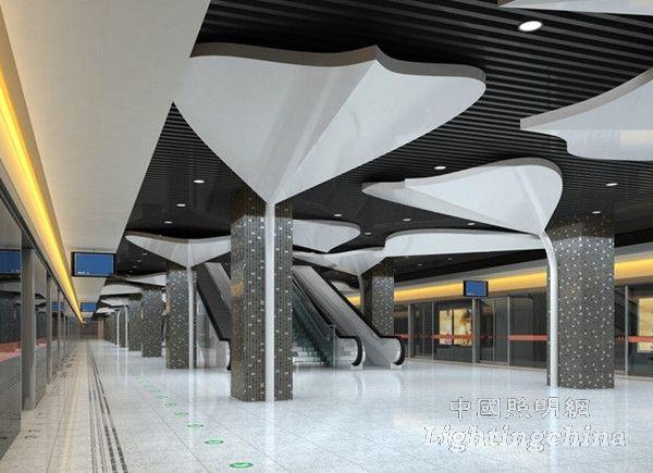 重庆地铁方案照明设计