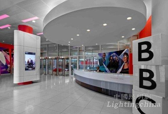 英国bbc新广播大厦室内照明设计