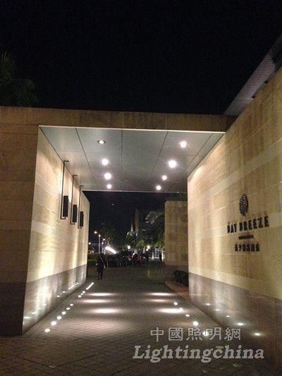 深圳蓝汐精品酒店照明设计